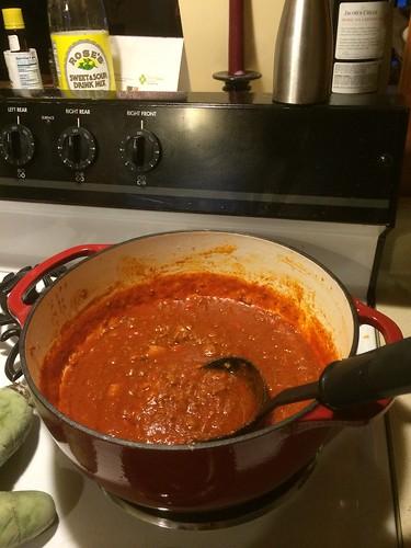 30-Minute Easy Chipotle Chicken Chili