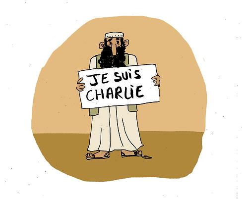 Nous sommes Charlie, par Mathilde Bouvault - Les étudiants du CESAN rendent hommage