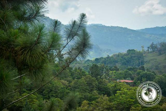 Mountains in Plantanillo, Costa Rica