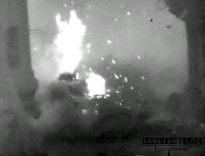 坦克战:活活烧死27