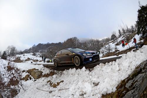 Sébastien Ogier Rally Monte Carlo 2015