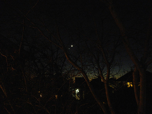 DSCN1080 _ Moon, Mars and Venus