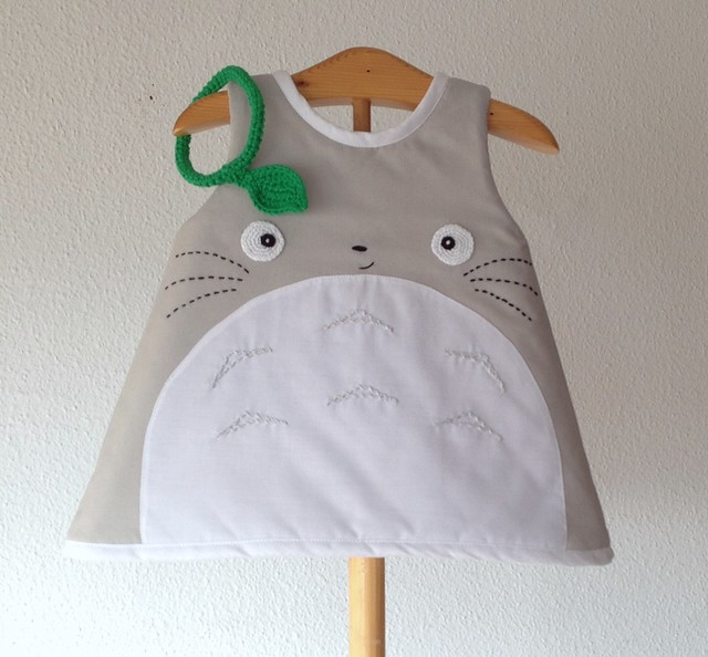 totoro little dress