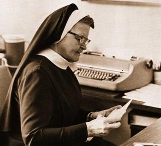 Sister Rose McArdle, RSM Mercy High School Principal San Francisco, CA 1971