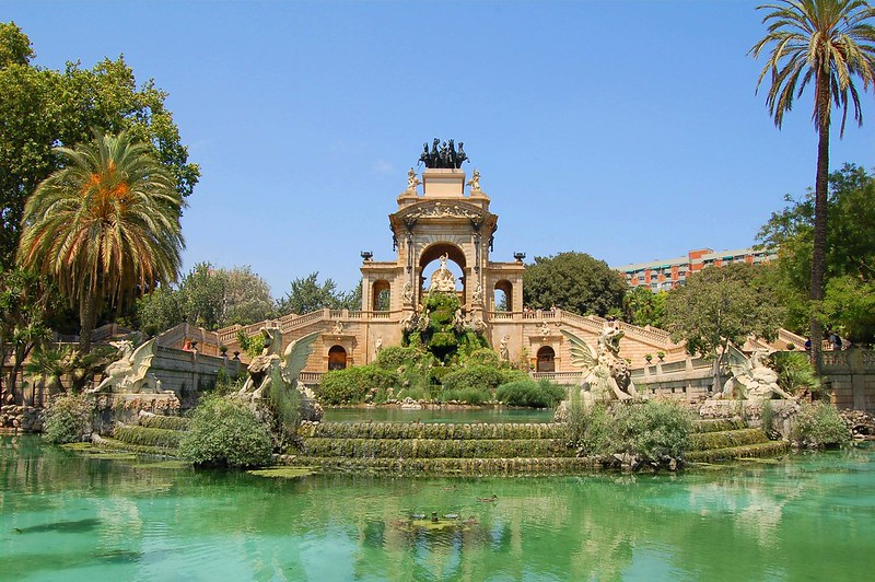 The Fountain in the Parc de la Ciutadella