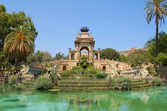 Fuente del Parc de la Ciutadella, Barcelona