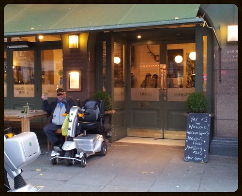 Chiswick: The Roebuck Pub.
