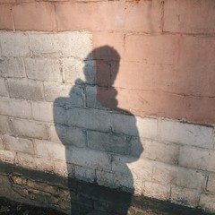 mine shadow portrait