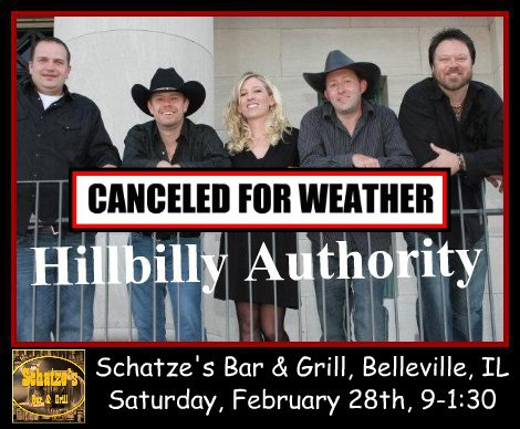 Hillbilly Authority 2-28-15