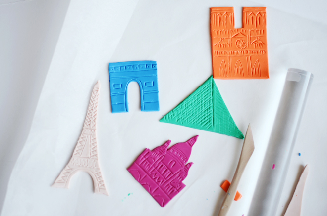 paris clay magnets