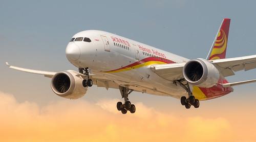 nikon boeing airlines hainan yyz 787 788 d7100