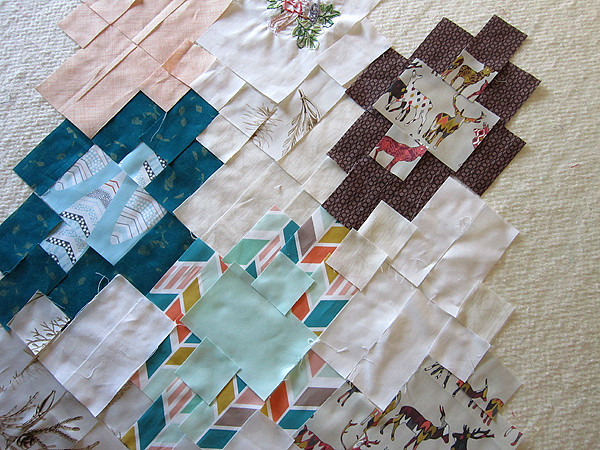 Woodland in Sweet Tea quilt pattern