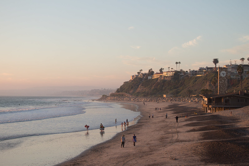 San Clemente beach, California, USA