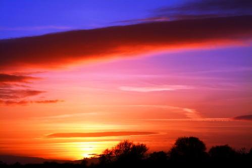 Sunset islands.