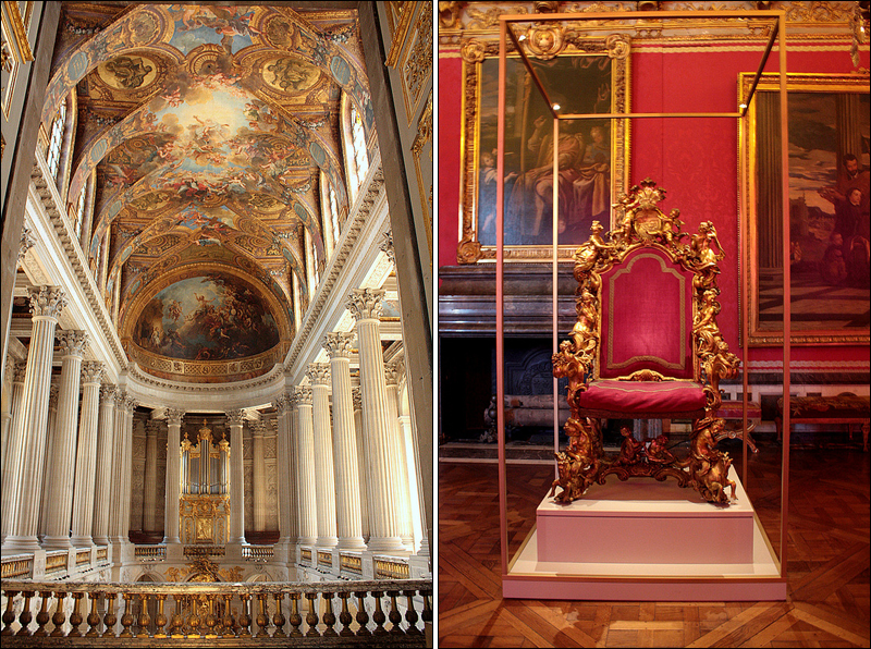 Royal Chapel and the throne exhibition