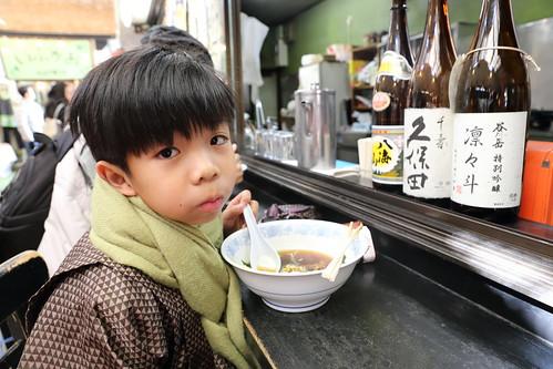 午餐吃拉麵