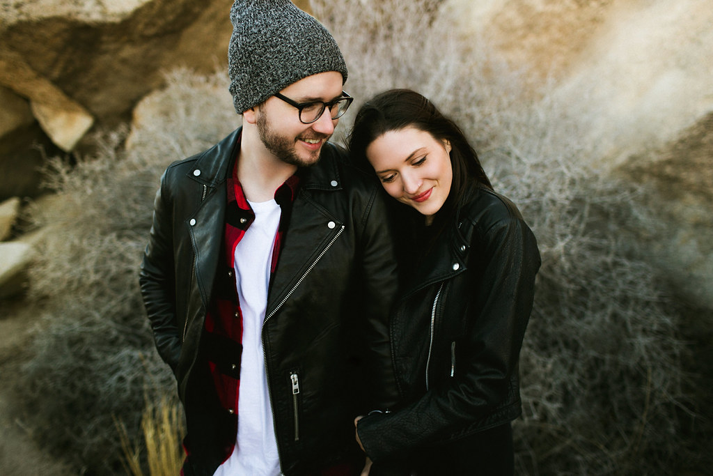 Joshua Tree California Adventure Engagement Session
