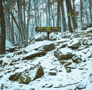 West Summit Trail.