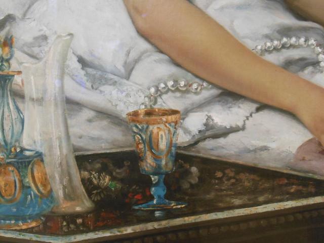 Courbet. El sueño
