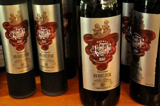 Saint Ambrose Bignay Wine