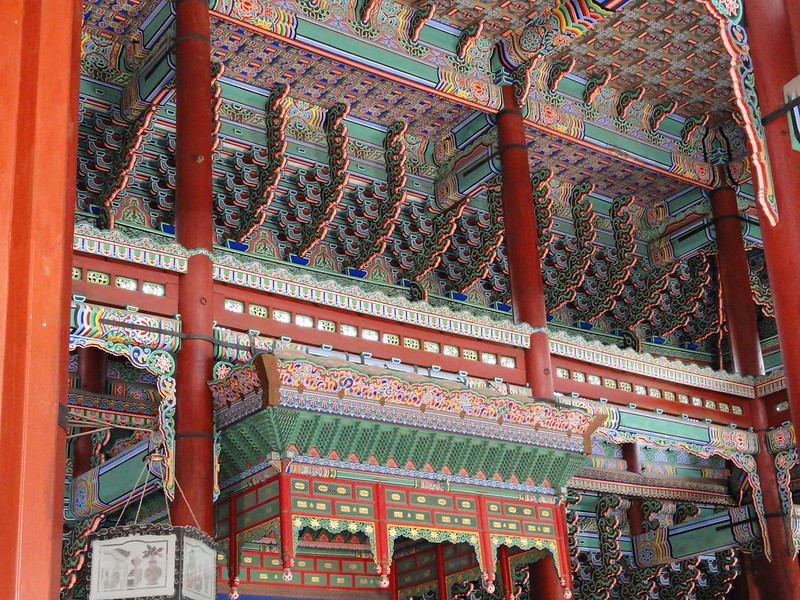 Colours in Gyeongbokgung, Seoul