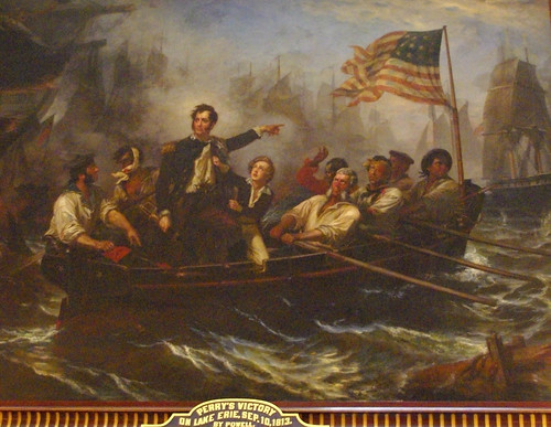 statehouse commodore perry paiting