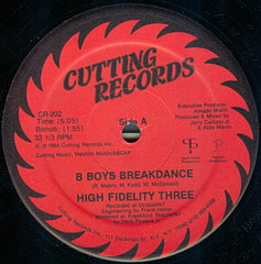 hi fidelity three b boys a