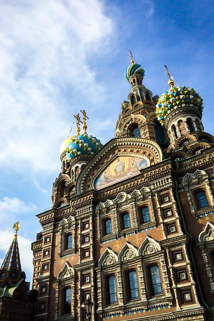Church of the Savior on Blood, Saint Petersburg, Russia サンクトペテルブルク、血の上の救世主教会
