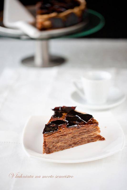 Торт в садик из сока и барни фото 2