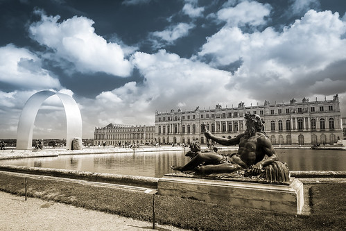 drama at Versailles