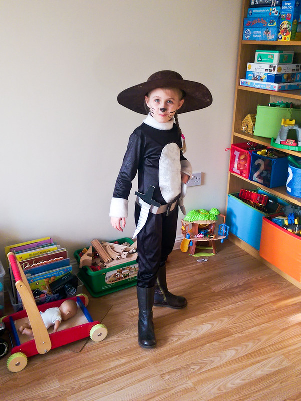 World Book Day and Puss in the Boots