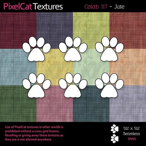 PixelCat Textures - Colab 117 - Jute
