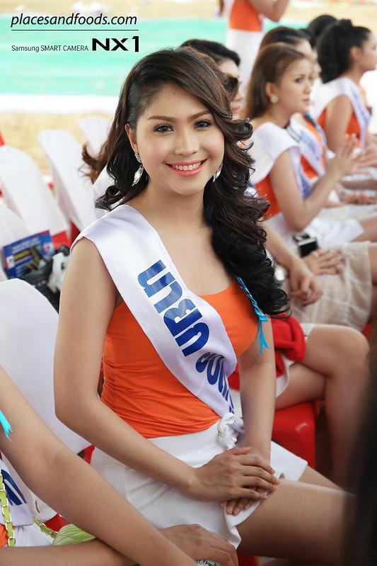 satun kite festival beauty pageant