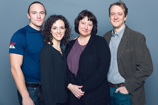 Max Carpenter, Marie Polizzano, Adrianne Krstansky, and Derek Hasenstab in the Huntington Theatre Company's production of William Inge's COME BACK, LITTLE SHEBA, directed by David Cromer, playing March 27 – April 26, 2015, South End / Calderwood Pavilion at the BCA. Photo: Nile Hawver/Nile Scott Shots.