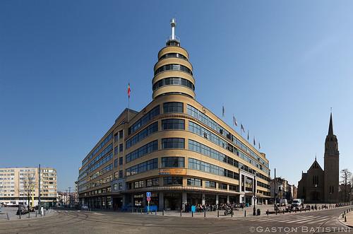 Institut national de radiodiffusion . Le Flagey, place Eugène Flagey, Ixelles, Belgique