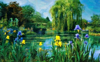 Weeping Willow Pond
