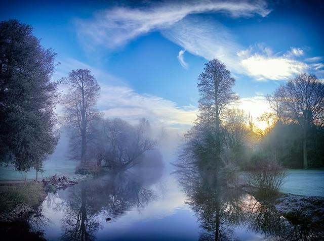 Misty Sunrise - Syon Gardens by Simon & His Camera (Exhibition FIX Photo Festival 2017 London)