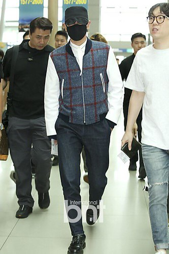 BIGBANG GDTOPDAE departure Seoul to Hangzhou Press 2015-08-25 101