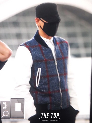 Big Bang - Incheon Airport - 25aug2015 - The TOP - 02