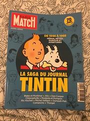 Tintin-special Paris Match