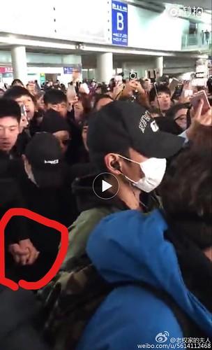 Big Bang - Beijing Airport - 31dec2015 - 老权家的夫人 - 01