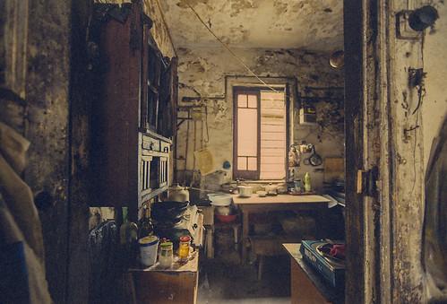 Ariadna's Convent, communal kitchen
