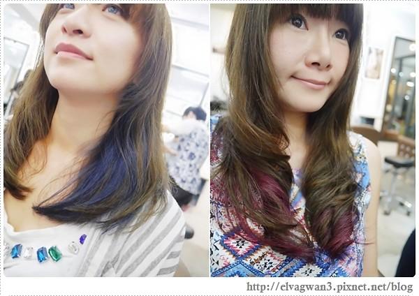 [頭毛兒] A'mour Hair Salon X Mars –☆ 染●燙☆長直髮掰掰,難得一見的捲髮新造型亮相+半年來的變髮記錄♥