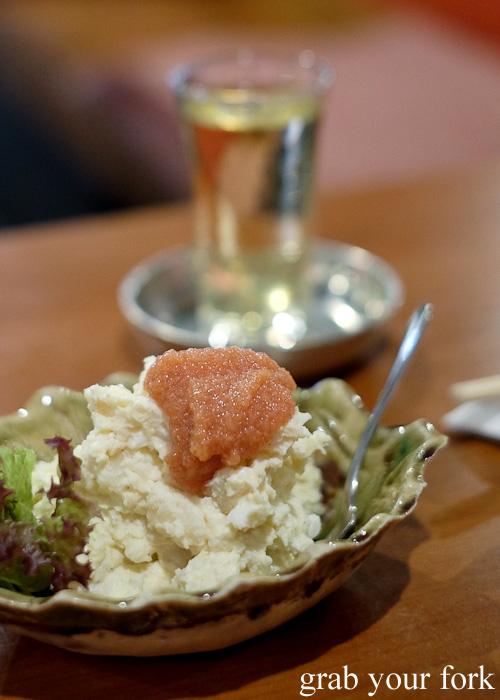 Mentai potato salad at Nom, Darlinghurst