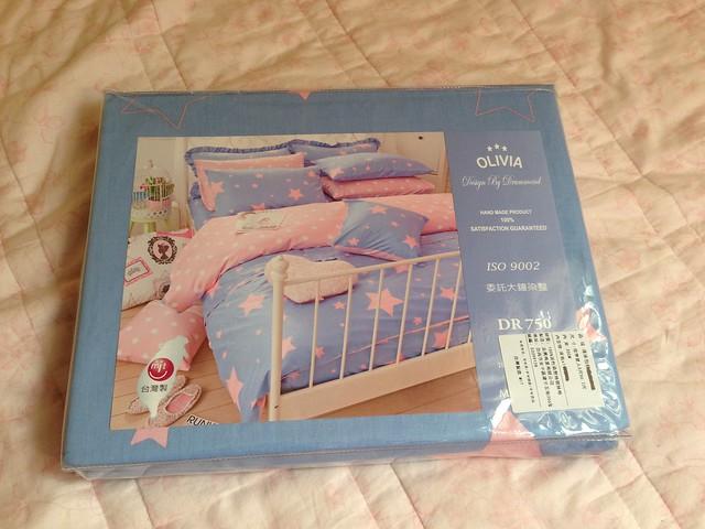 包裝@Olivia西式床包