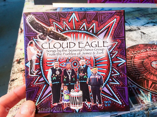 Cloud Eagle CD Art