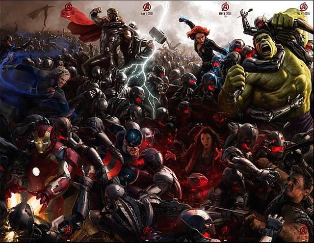 Estrenos del 2015 - Segundo trimestre - Poster Los Vengadores 2