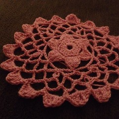#doily. Take two!  #crochet #lace