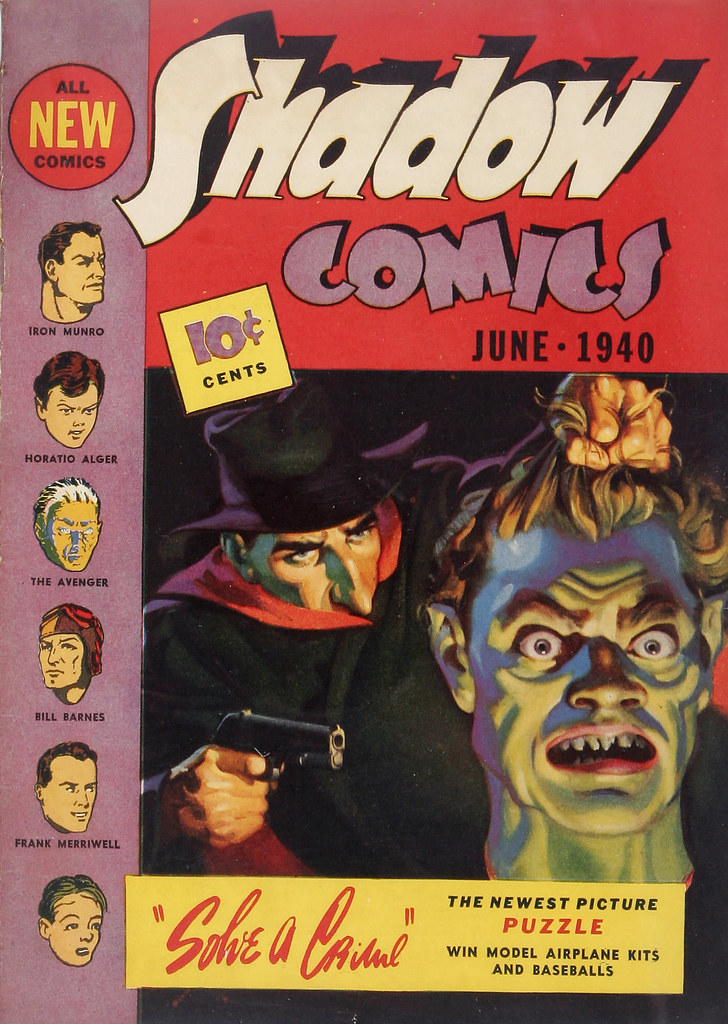 Shadow Comics #4 Larson pedigree (Street & Smith, 1940) George Rozen Cover