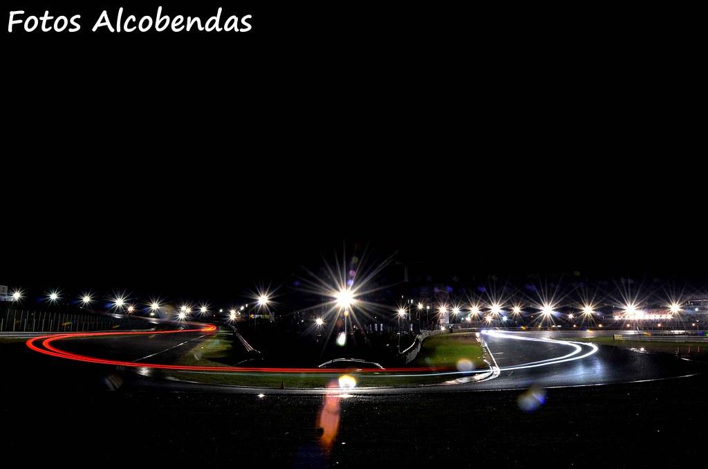 Noche en el Circuito del Jarama